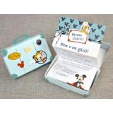 Invitatie botez Mickey Mouse Travel 15700