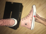 Converse All Star piele, 38, Rose