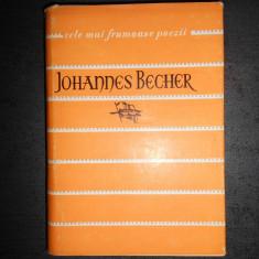 JOHANNES BECHER - CELE MAI FRUMOASE POEZII (1962, editie cartonata)