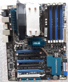 KIT I7 Asus P6T6 WS Revolution+ Xeon 5675 3,06Ghz(Hexa Core)+ Cooler ID COOLING