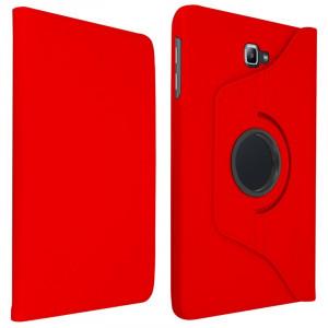 Husa Samsung Galaxy Tab A6 10.1 2016 AKASHI Smart Stand Red