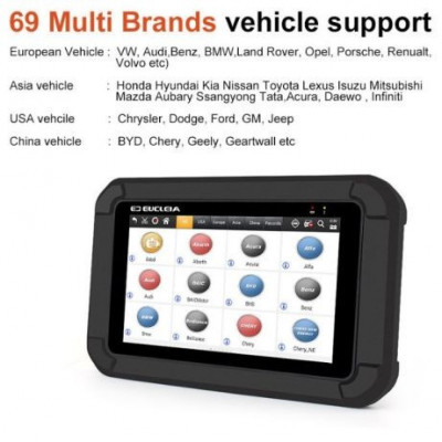 TESTER AUTO Coding-Car-Diagnostic-Scanners Android WIFI Tablet S7 Full foto