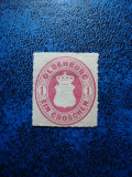 GERMANIA STATE / OLDENBURD 1GR 1862, Nestampilat