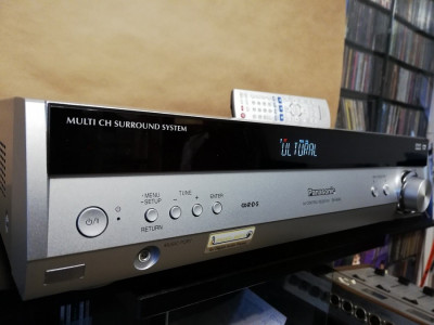Amplificator/Receiver PANASONIC SA-HE40 - 5.1 Channel  -Telecomanda/Impecabil foto