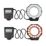 Lampa blitz macro Shoot XT-103C Nikon Canon Lumix Pentax Olympus, Circular