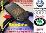 Interfata auto Hex V2 Vag Com vcds 18.9 Update romana/engleza - Promotie !