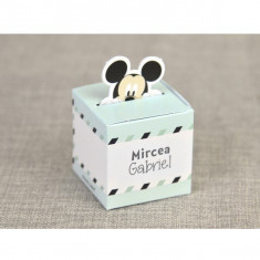 Marturie botez cutiuta Mickey Mouse Travel 4700