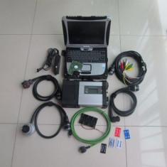 Tester Mercedes Benz MB STAR C5 cu laptop cf19 Software full cu 250GB SSD
