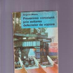 PREVENIREA COROZIUNII PRIN EVITAREA DEFECTELOR DE VOPSIRE