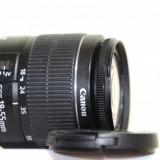 Obiectiv Canon EFS 18-55 mm, MACRO 0.25m/0.8ft