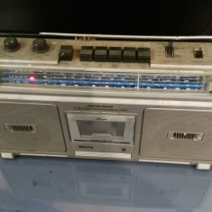 RADIO CASETOFON SPATIAL STEREO PHILIPS, 0-40 W