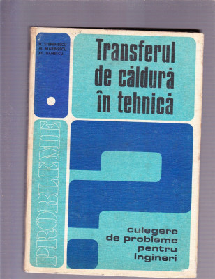 TRANSFERUL DE CALDURA IN TEHNICA foto