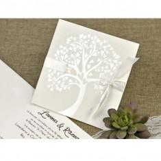 Invitatie nunta copac 39642