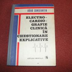 Electrocardiografie Clinica In Chestionare Explicative - Bara Constantin