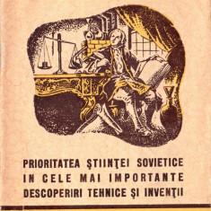 Prioritatea științei sovietice în cele mai importante descoperiri tehnice