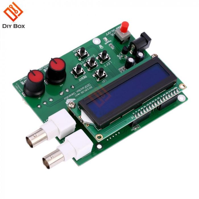 generator semnal DDS Triangle Wave Sine Square 1Hz-65534Hz DC 7V-9V LCD Display