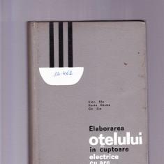 ELABORAREA OTELULUI IN CUPTOARE ELECTRICE CU ARC