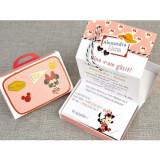Invitatie botez Minnie Mouse Travel 15701