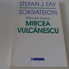 mircea vulcanescu  - stefan f. jay