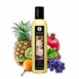 Ulei de masaj SHUNGA, cu aroma de fructe exotice, 250 ml
