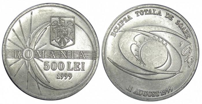 ROMANIA 500 LEI 1999 ECLIPSA UNC NECIRCULATA