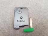 Cartela Renault Laguna Espace cu 2 butoane  Smart key 433MHZ  pcf7947 chip HQ