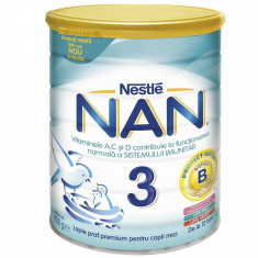 Lapte praf NESTLE Nan3 400g intre 1 si 2 ani
