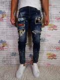 Blugi barbati Tip Zara Slim/Skinny Conici Model Nou 2018, 29 - 34, Din imagine, Lungi
