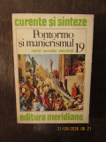 PONTORMO SI MANIERISMUL-VICTOR IERONIM STOICHITA