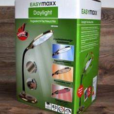 Lampa de birou Easymaxx,otel inoxidabil,cu telecomanda,auriu
