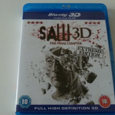 Saw - the final chapter - blu ray, Engleza
