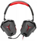 Casti Gaming Lenovo Y GXD0L03746, Microfon (Negru/Rosu)