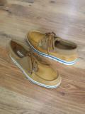 Pantofi barbat TIMBERLAND Sensorflex originali noi piele +tesut foarte usori 40, Albastru, Camel, Piele naturala