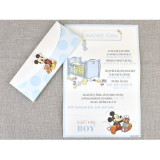 Invitatie botez Baby Boy Mickey 15719