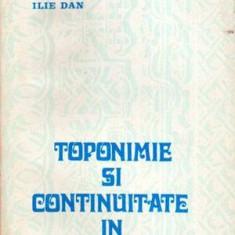 Toponimie si continuitate in Moldova de Nord - Autor(i): Ilie Dan