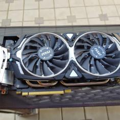 Placa Video MSI GeForce GTX 1070 Armor OC 8GB, PCI Express, 8 GB, nVidia