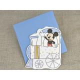 Invitatie botez Trenulet Mickey & Donald 15723