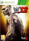WWE 12   - XBOX 360 [Second hand], Actiune, 12+, Single player