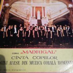 Vinil - Corul madrigal