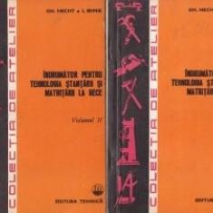 Gh. Hecht - Îndrumator pentru tehnologia stantarii si matritarii la rece (2 vol)