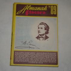 """Almanah Flacara 1989 - ultimul numar din epoca """"ceausescu"""""""