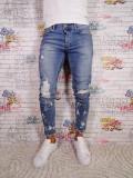 Blugi barbati Tip Zara Slim/Skinny Conici Model Nou 2018, 29, 30, 32, 34, Din imagine, Lungi