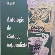 ANTOLOGIE DE CANTECE LEGIONARE NATIONALISTE SORIN OLARIU MISCAREA LEGIONARA 284P
