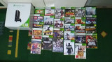 Xbox 360,500Gb cu doua controllere wireless și cu 27 jocuri