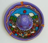 Scrumiera SOMBRERO din ceramica pictata manual - superba!