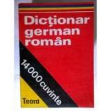 E. Sireteanu - Dicționar german - român ( 14000 cuvinte )