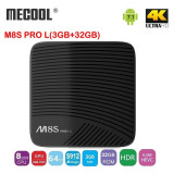 Tv Box 4K Meccol M8S PRO L,Octa-core,3gb,32gb,dual Wi-Fi,Bluetooth,Android 7.1