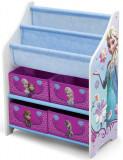 Organizator carti si jucarii cu cadru din lemn Disney Frozen, Delta Children