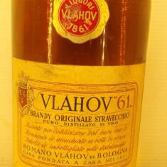 BRANDY ORIGINALE STRAVECCHIO, VLAHOV 61,  L. 1 gr. 43 ANI 50/60