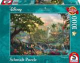 Jucarie Thomas Kinkade Disney The Jungle Book 1000 Piece Jigsaw Puzzle, Schmidt